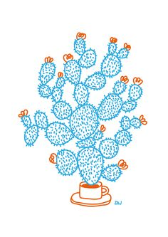 Cactus by Sandra Raninen