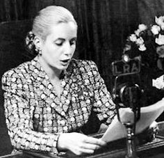 """famous speeches This week's Famous Speech Friday post looks at Eva Peron's 1951 """"Renunciamiento,"""" a radio speech renouncing overwhelming calls for her to become vice president. Click o Douglas Macarthur, Monica Lewinsky, Maya Angelou, Steve Jobs, Martin Luther King, Taking Chances Quotes, Camus Quotes, Rhetorical Device, Bushido"""