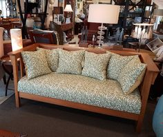 Chatsworth Sofa - Arts and Crafts Settees, Scatter Cushions, Vinyls, Sofas, Love Seat, Arts And Crafts, Fabrics, Stains, Lounge