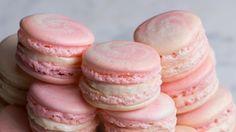 Strawberry Cheesecake Macarons - YouTube