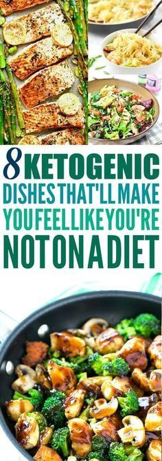 These 8 Ketogenic recipes are THE BEST! Im so happy I found these GREAT keto recipes! Now I have some healthy dinner recipes to try tonight! Ive been wanting to try this Ketogenic diet! So pinning this keto diet pin!