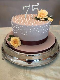 Cute Birthday Cakes For Mom . Cute Birthday Cakes For Mom Birthday Cake On Cake Central Birthday Party In 2019 Elegant Birthday Cakes, Birthday Cake For Women Simple, 75th Birthday Parties, Birthday Cake For Mom, Birthday Cake With Photo, Birthday Cake With Flowers, Homemade Birthday Cakes, Elegant Cakes, Birthday Woman