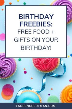 Ever wonder where the best places are to get Birthday Freebies? Who doesn't like FREE stuff on your birthday? See the list of freebies and sign up for the ones you are interest in. Many of these offers will direct you to sign up for the email list, make sure you check that you want correspondence from them on offers and deals so you won't miss out on your birthday freebies! Diy Party, Party Favors, Party Ideas, Free On Your Birthday, Birthday Freebies, Best Money Saving Tips, Get Free Stuff, Saving Ideas, Holiday Desserts