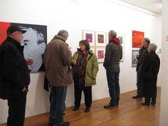 Vernissage am 31. Oktober 2013 in der Galerie Junge Kunst Trier