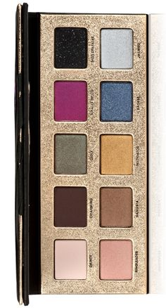 I adore this palette!! Pretty Rebel by Too Faced. Any time I wear any of these colors, I get a ton of compliments.