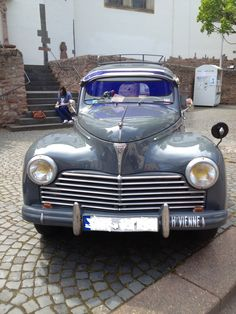 Our Peugeot 203 :) ♥