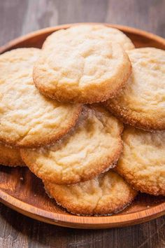Soft and Chewy Sugar Cookies ~ These soft and chewy sugar cookies are like little bite of nostalgic satisfaction. ~ SimplyRecipes.com