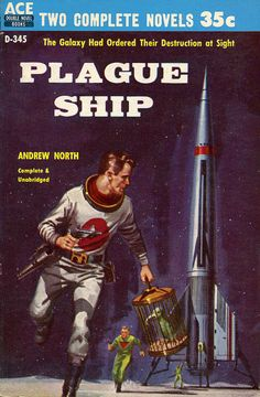 Amazing Vintage Sci-Fi Magazine and Book Cover Art   by modern_fred