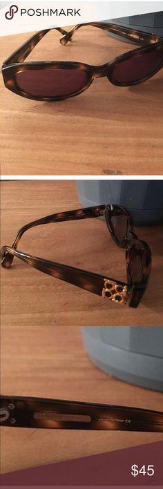 Salvatore Ferragamo Sunglasses Salvatore Ferragamo Sunglasses, Brown tortoise shell color. Made in Italy. Perfect condition. No case. Glasses only. Ferragamo Accessories Sunglasses