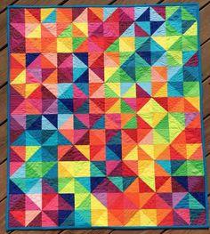 Half square triangles are so fun and versatile.