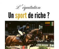 L'équitation et l'argent ? - Le Blog cheval et moi Cavaliers, Sport, Broadway Shows, Blog, Beautiful Horses, Horse, Exercise, Money, Deporte