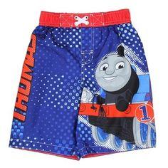 BRAND NEW W TAGS Toddler Boys Thomas /& Friends Swim Trunks Size 2T