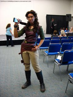 Firefly Zoe cosplay - I had to look at it twice, I thought it was really her!!!  LOL!