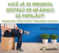 móveis e brinquedos sustentáveis em craft. resistentes, custo baixo, sustentáveis e recicláveis. www.varaldetalentos.blogspot.com
