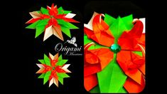Origami Maniacs 319: Fantasy Star (Flower Variation)