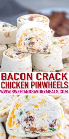 Bacon Cheddar Ranch Pinwheels are the ultimate party appetizers that you can put together in less than 20 minutes. Bacon Cheddar Ranch Pinwheels are the ultimate party appetizers that you can put together in less than 20 minutes. Finger Food Appetizers, Yummy Appetizers, Appetizers For Party, Chicken Appetizers, Seafood Appetizers, Christmas Dinner Ideas Appetizers, Finger Food Recipes, Christmas Meal Ideas, Health Appetizers