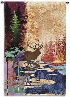 Ghosts Of The Tall Timbers Tapestry -...    $229.00