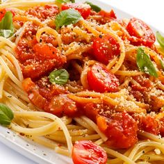 This homemade tomato sauce recipe can be made and used right away or frozen for later use.