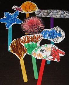 A House For Hermit Crab ~ Lapbook - 1+1+1=1 puppet patterns