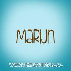 Marijn (Voor meer inspiratie, en unieke geboortekaartjes kijk op www.heyboyheygirl.nl)