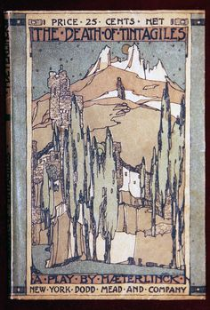 Jessie M King: The Death of Tintagiles cover - 1914