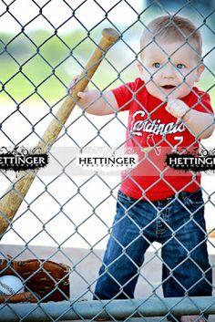 Love the little baseball player picture.