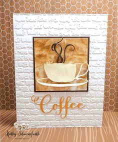 Stamps At Play: Coffee Swirls