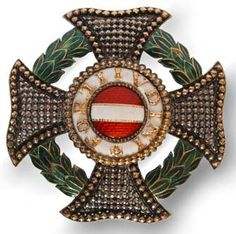 Maria Theresa Order, Grand Cross star of emperor Franz Joseph I.