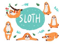 Sloth designed by Be Nice Mnl. the global community for designers and creative professionals. Silver Spring, Show And Tell, Sloth, Nice, Etsy, Sloth Animal, Sloths, Nice France