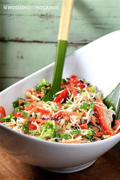 Asian Noodle Summertime Salad by Noshing With The Nolands (2) (Custom)