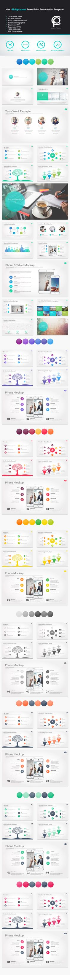 Officepro Multipurpose Powerpoint Template  Template