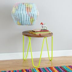 Neon Yellow Nightstand