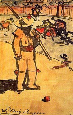 Picador, 1900 - Pablo Picasso