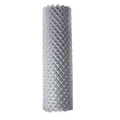 $63.90 4-ft x 50-ft Uncoated Galvanized Steel 11.5-Gauge Chain-Link Fence Fabric $127.80
