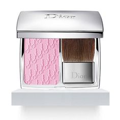 DIOR Diorskin Rosy Glow Blusher - looks like bubblegum but gives such an amazing natural rosy glow, worth every penny.