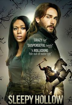 Yay...Sleepy Hollow is back for Season 2!  Ichabod Crane is resurrected and pulled two and a half centuries through time to unravel a mystery that dates all the way back to the founding fathers.