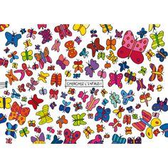 "Lali game card ""Papillons"""