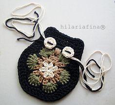 by hf Crochet African Flower & Owl  ❥