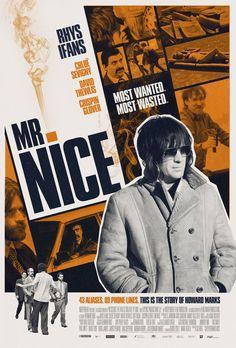 Mr. Nice (2009) GB Crime. Rhys Ifans, Chloe Sevigny, David Thewliss, Crispin Glover, Omid Djalali. (5/10) 03/03/13