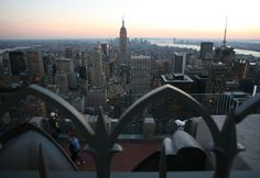 ESB From the Top of the Rock Observatory Desk