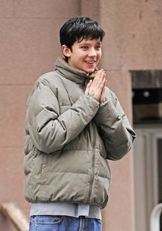 Asa butterfield. If your happy and you know it clap your hands! :)