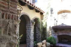 Exterior Photos Stone And Brick Design, Pictures, Remodel, Decor and Ideas - page 11
