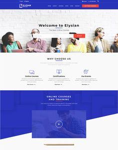 Elysian - WordPress School Theme + LMS - ModelTheme Course Search, Learn Web Design, Best Online Courses, Beads Online, Learn To Code, School Themes, New Students, Best Teacher, Mobile Application