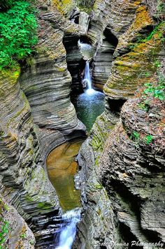 Beautiful Landscape photography : Watkins Glen State Park Watkins Glen New York