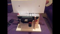 Homemade benchtop jointer (from an electric plane) - Margaritis (Takis) Kailos Electric Planer, Espresso Machine, Coffee Maker, Homemade, Videos, Wood, Espresso Coffee Machine, Coffee Maker Machine, Coffee Percolator