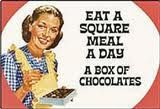 Breakfast, Lunch and Dinner.... chocolate