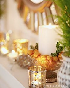 45 Creative Holiday In Gold Decorating Ideas  Family Holiday