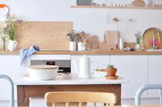 white kitchen Le Dans La