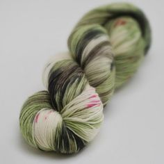 Farmgate - Variegated hand dyed yarn on 4py superwashed merino fingering
