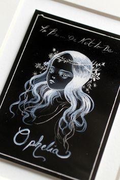 Ophelia - original illustration by Mab Graves by mab graves, via Flickr
